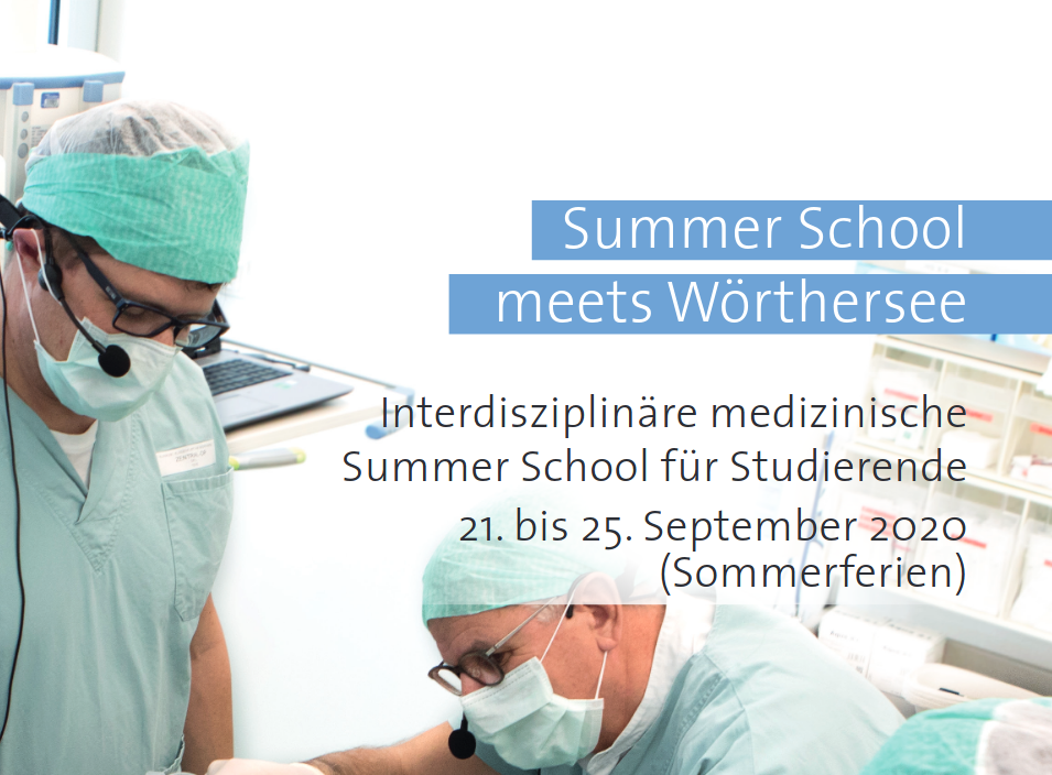 Summerschool Wörthersee 2020